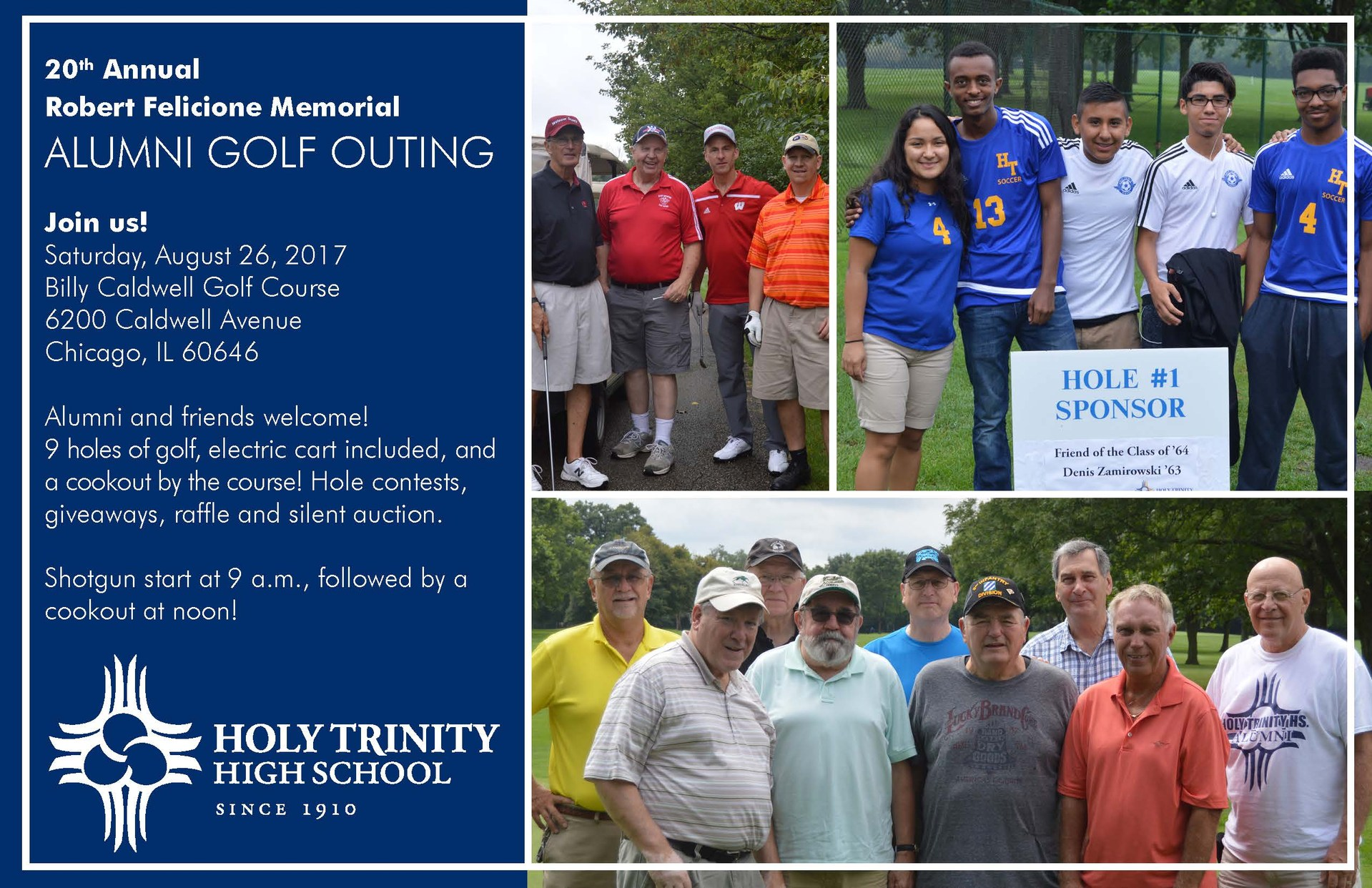 You're invited to the 2017 Alumni Golf Outing