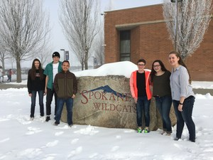 Six student scholars at Mt. Spokane High School.