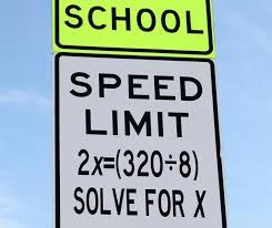 Speed limit equation