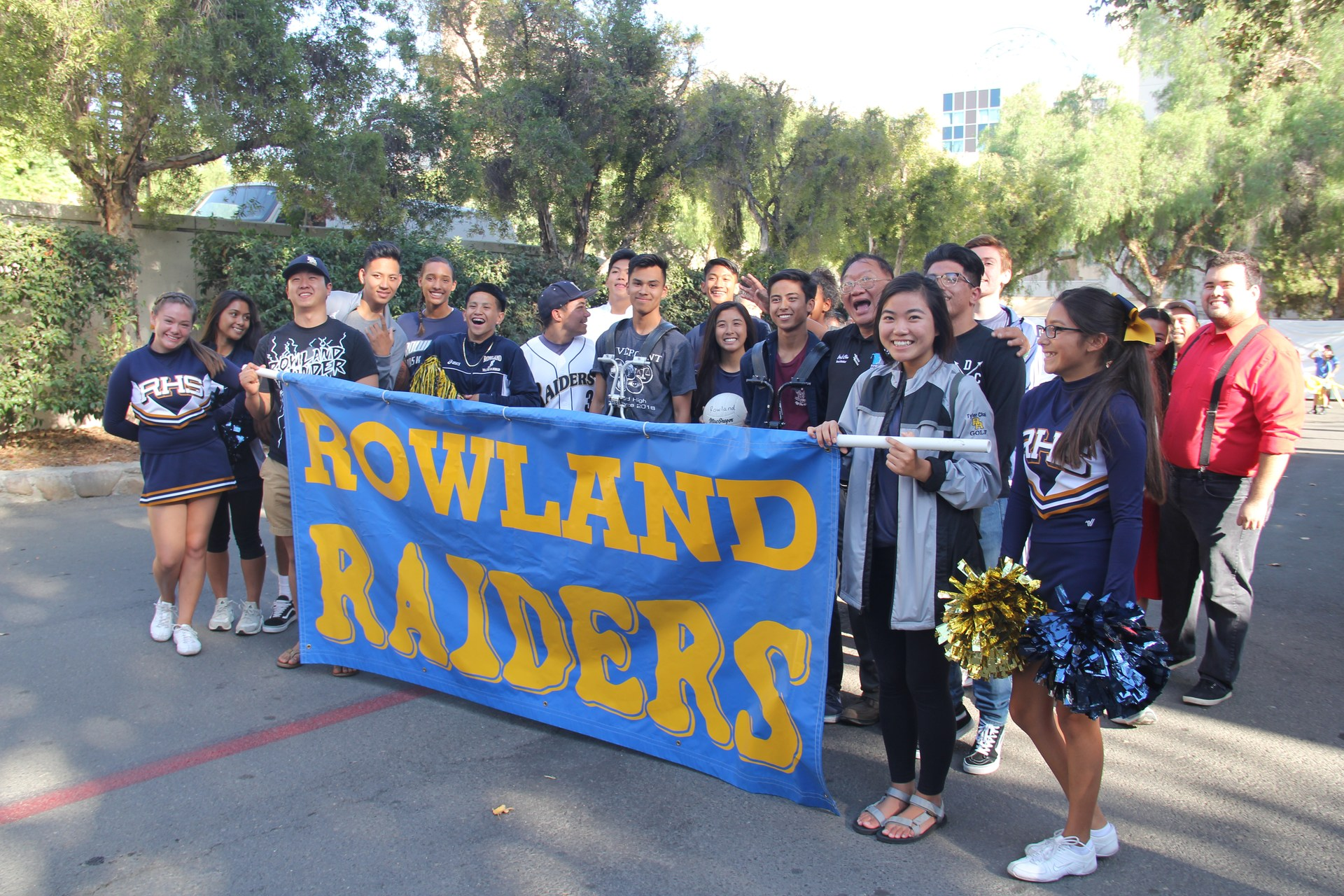Rowland High Students