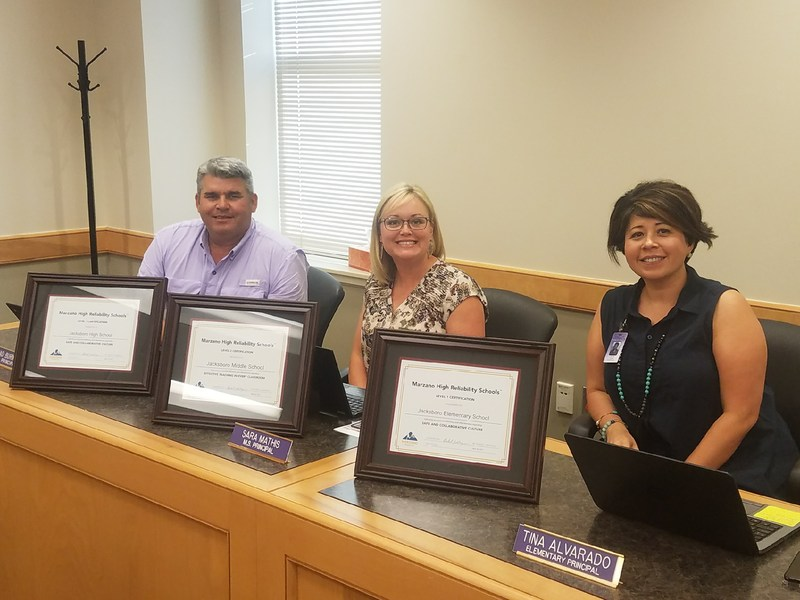 JISD Campuses Receive Marzano Recognition Thumbnail Image