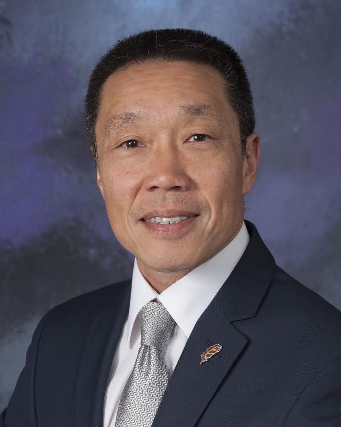 Photo of Board President Fenton Eng.