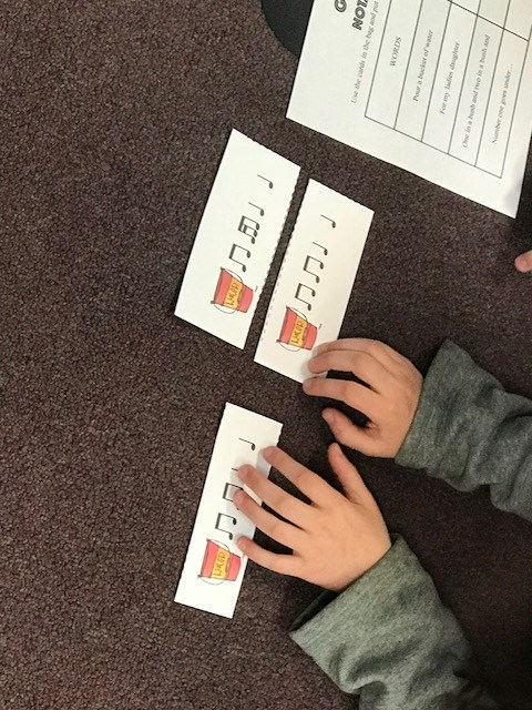 2nd grade era working on rhythm