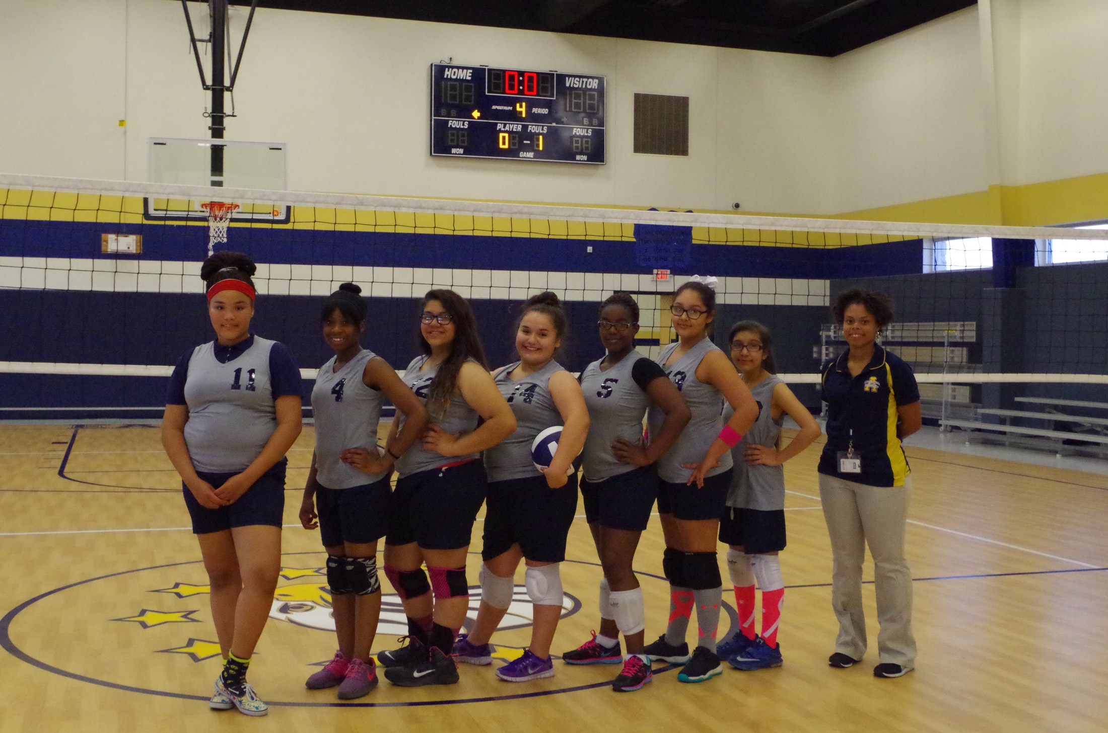 Advantage Academy Volleyball Team