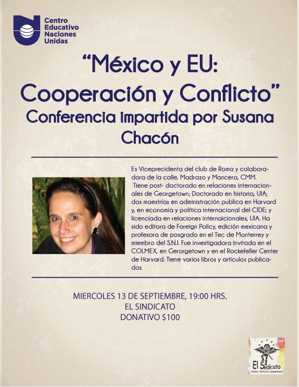 Conferencia México y EU: Cooperación y Conflicto Featured Photo