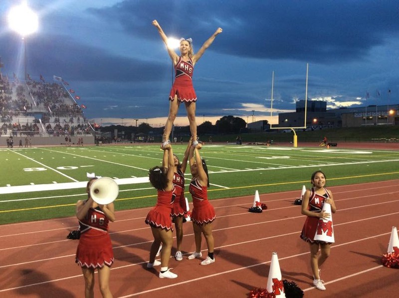 MHS Creates Fundraiser to Help Send Cheerleaders to Macy's Thanksgiving Day Parade Thumbnail Image