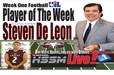 Steven De Leon wins HSSP Player of the week