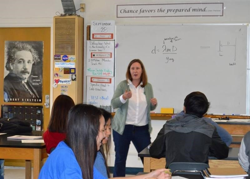 Katie Beck  - Finalist in 2017 Presidential Award for Excellence in Math and Science Teaching (PAEMST) Thumbnail Image
