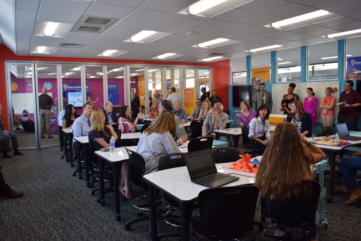 Elementary Classrooms Of The Future : Sherwood elementary sapp design