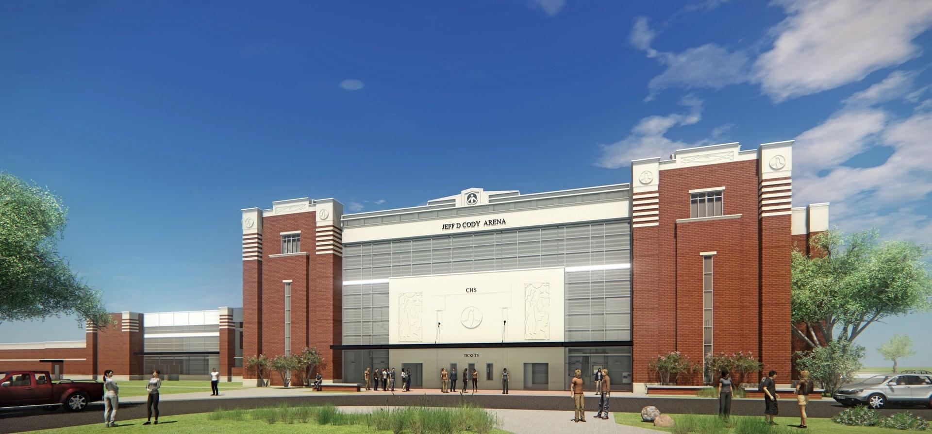 New Jeff D Cody Arena