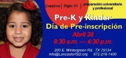 Pre-K Program - Enrollment - SPAN 2014.jpg