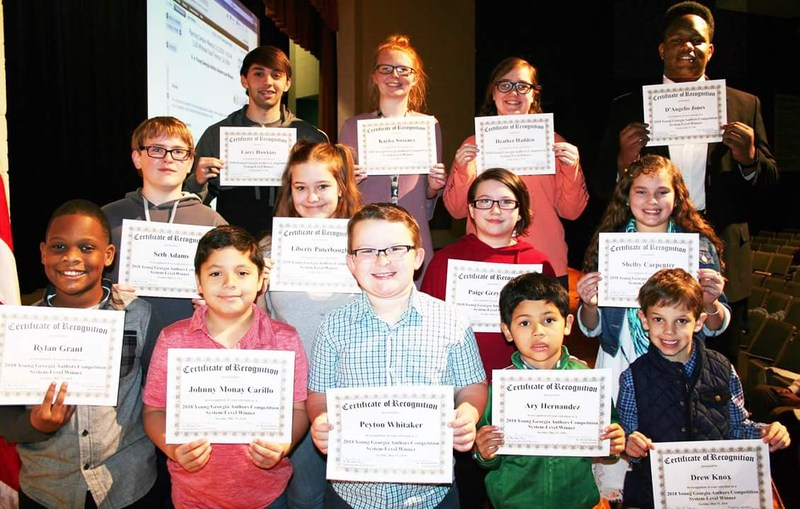 Regional Young Georgia Authors Winners Featured Photo