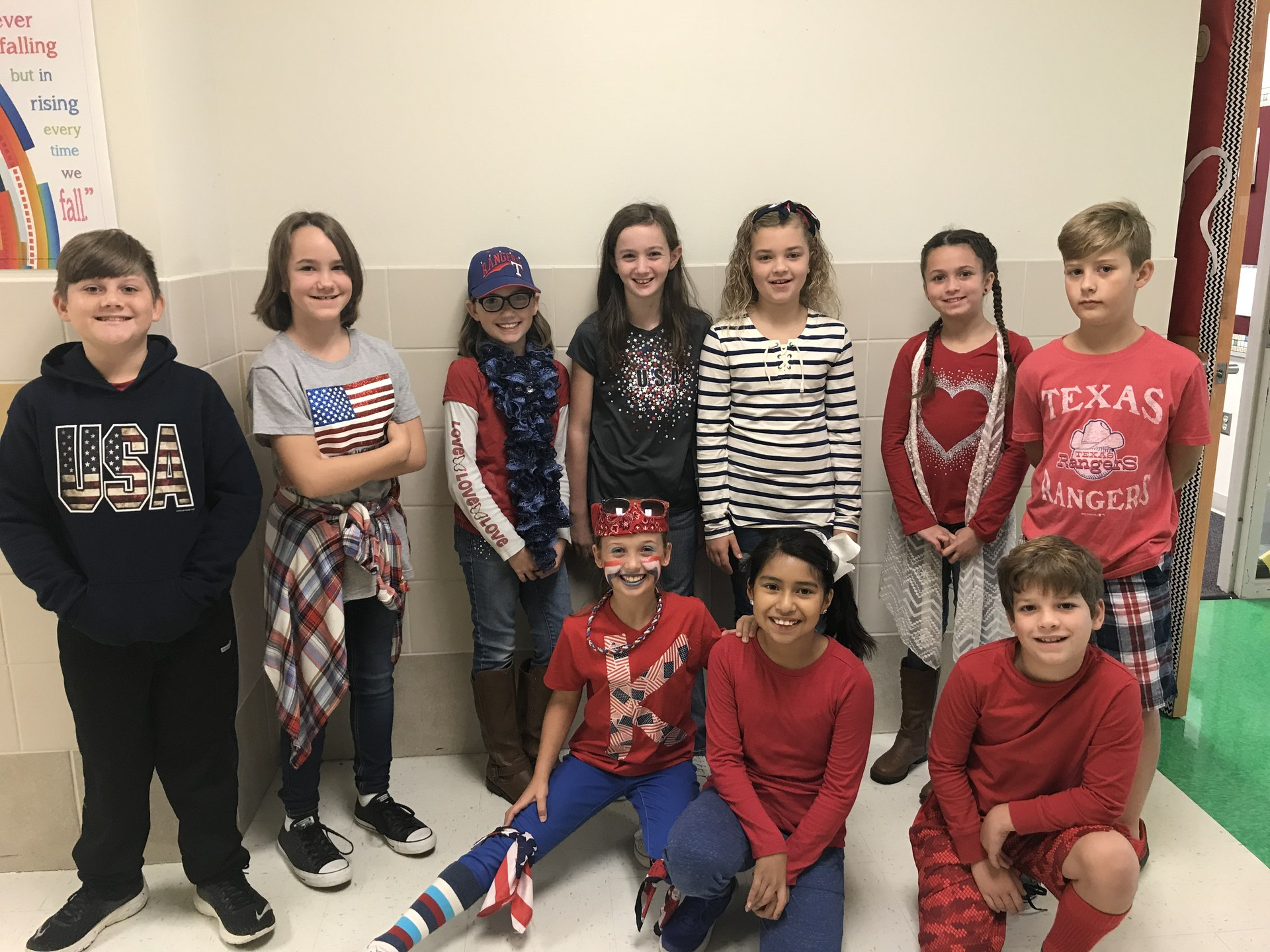 Red, White, and Blue Day Picture