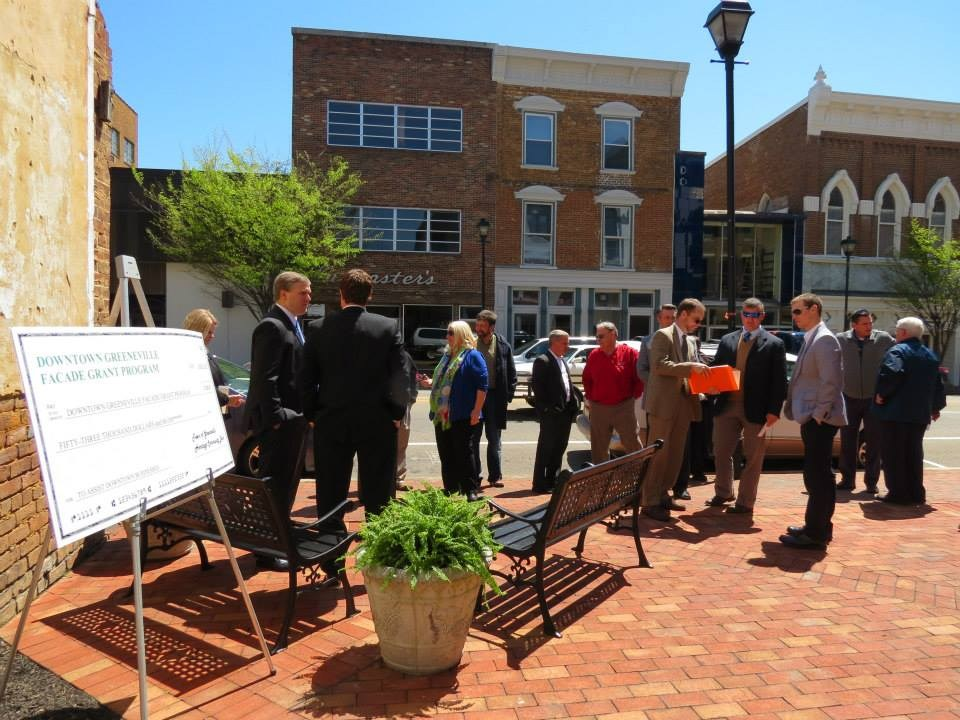 downtown facade grant presentation