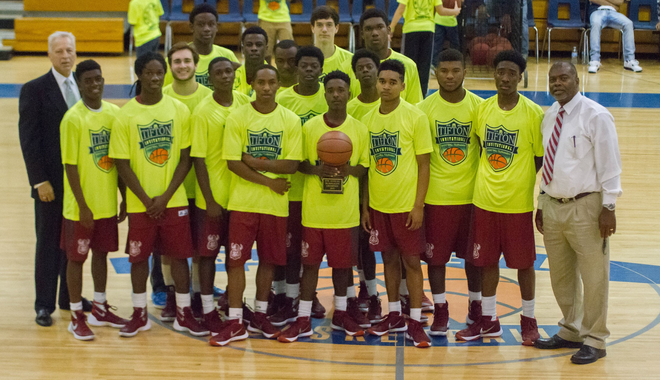 McDonald's Tournament players