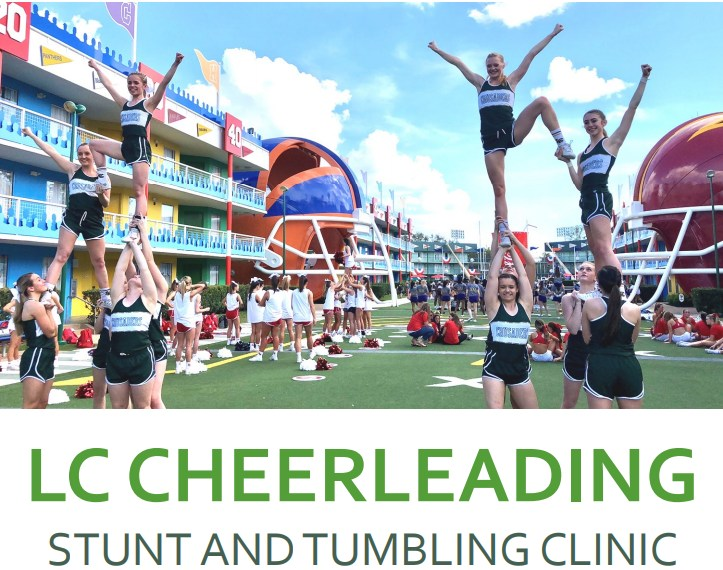 LC Cheer Offers Clinic for 2nd - 8th Graders Featured Photo