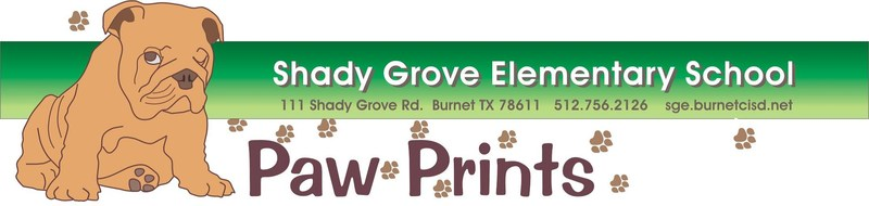 DECEMBER Paw Prints Newsletter for Parents Thumbnail Image