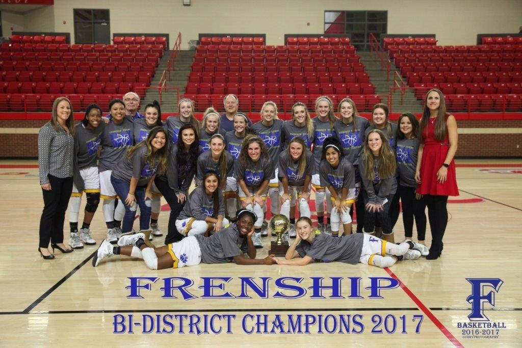 Frenship Girls Basketball Bi-District Champions