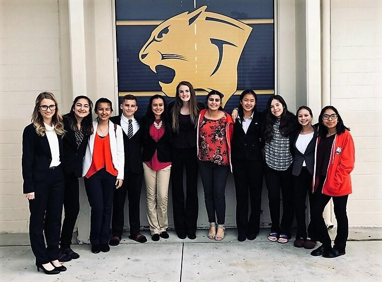 CUHS Speech Team at Clovis East State Qualifying Contest