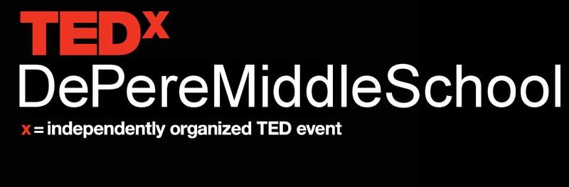 TEDxDePereMiddleSchool Logo