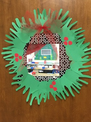 4th grade completing 12 Days of Christmas Kindness activities.