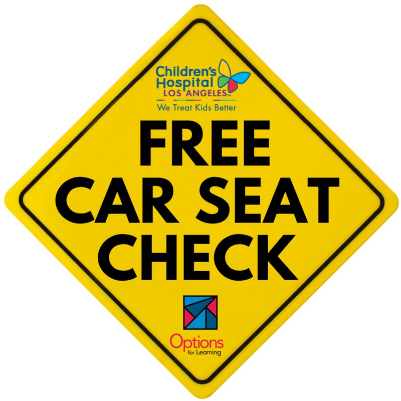 FREE Car Seat Check February 16th @ Options for Learning in Covina Featured Photo