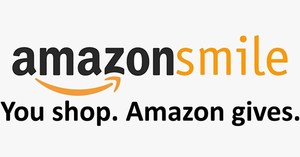 Amazon Smiles Logo with text: