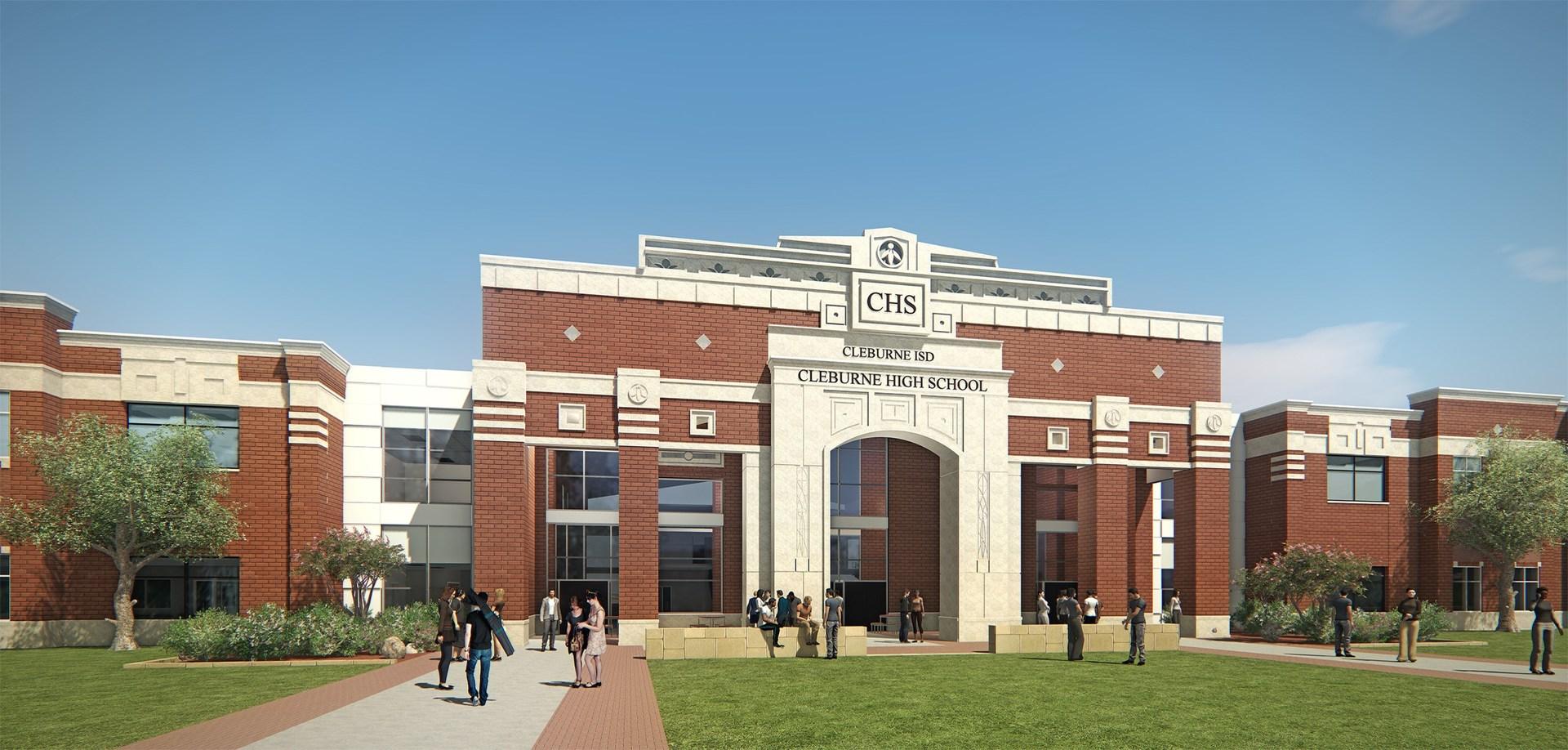 New Cleburne High School