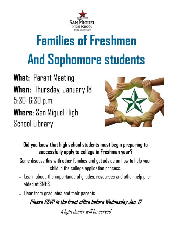 Parent Meeting this Thursday! Thumbnail Image