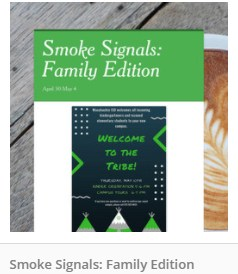 Smoke Signals: Family Edition Week of April 30 Featured Photo