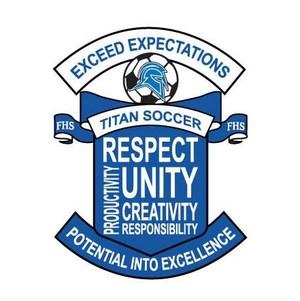 Girls Soccer Crest