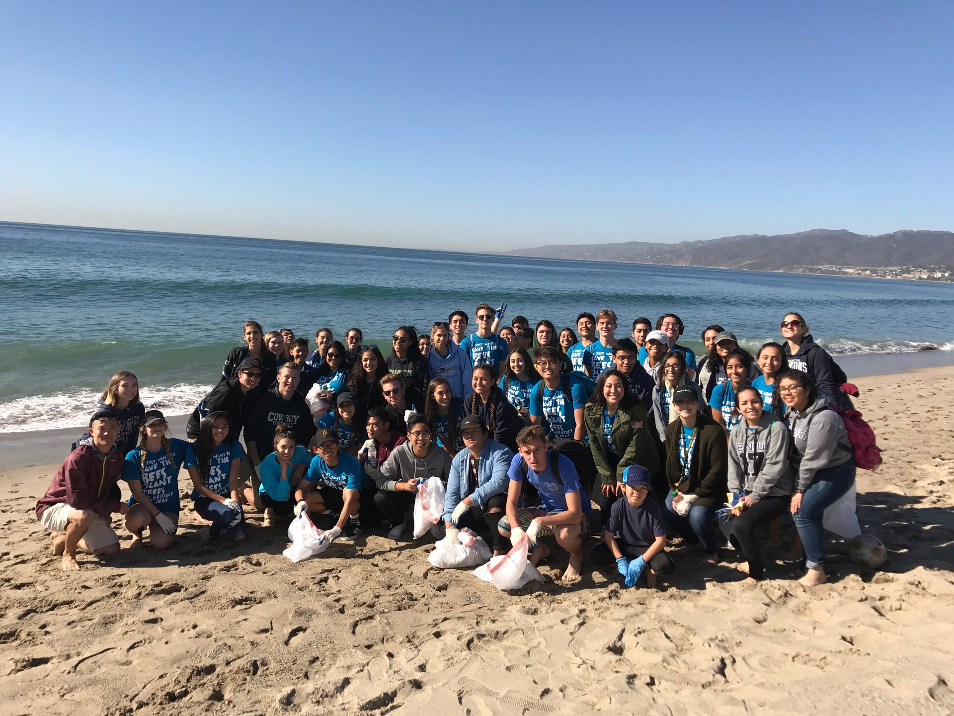 Santa Monica Beach Clean Up