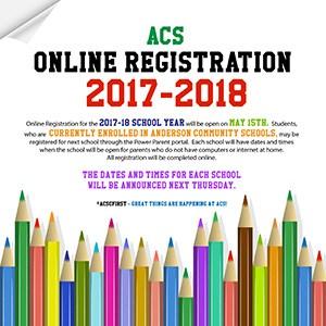 ACS- ONLINE REGISTRATION INFORMATION