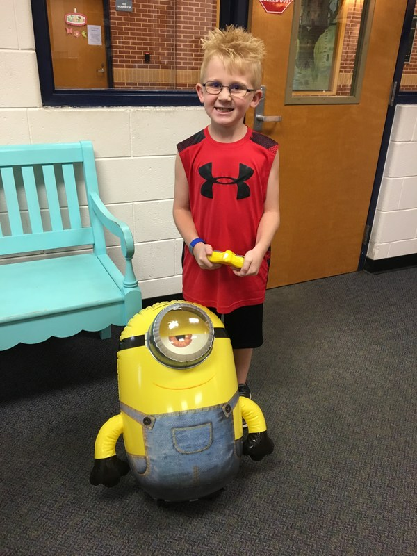 Winner of the Minion Robot Featured Photo