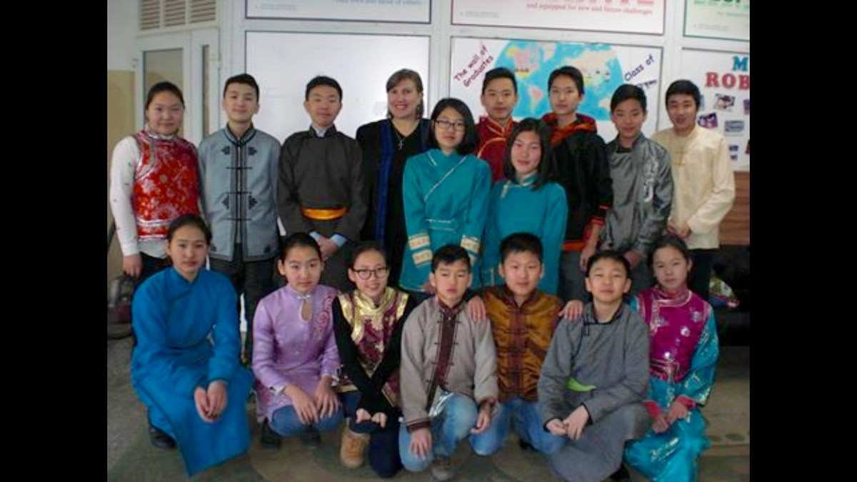 This is one of my Mongolian classes!
