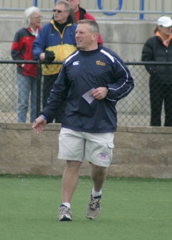 Coach Tim Kluempers