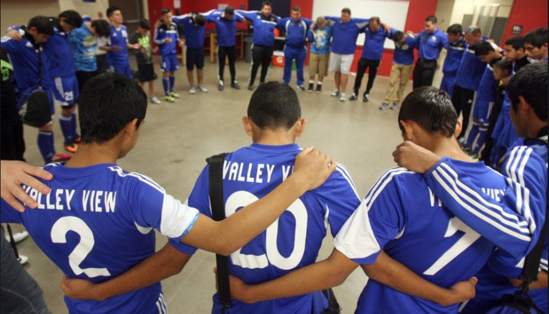 2018 UIL 5A Boys Soccer Semifinals #2 Valley View ISD vs Frisco Wakeland Thumbnail Image