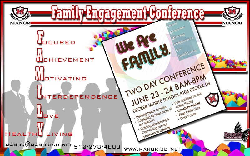 FAMILY ENGAGEMENT CONFERENCE TO FEATURE FOOD, FUN & COMMUNITY RESOURCES Thumbnail Image