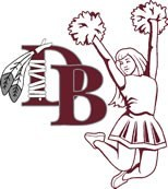 DBHS Cheerleading logo