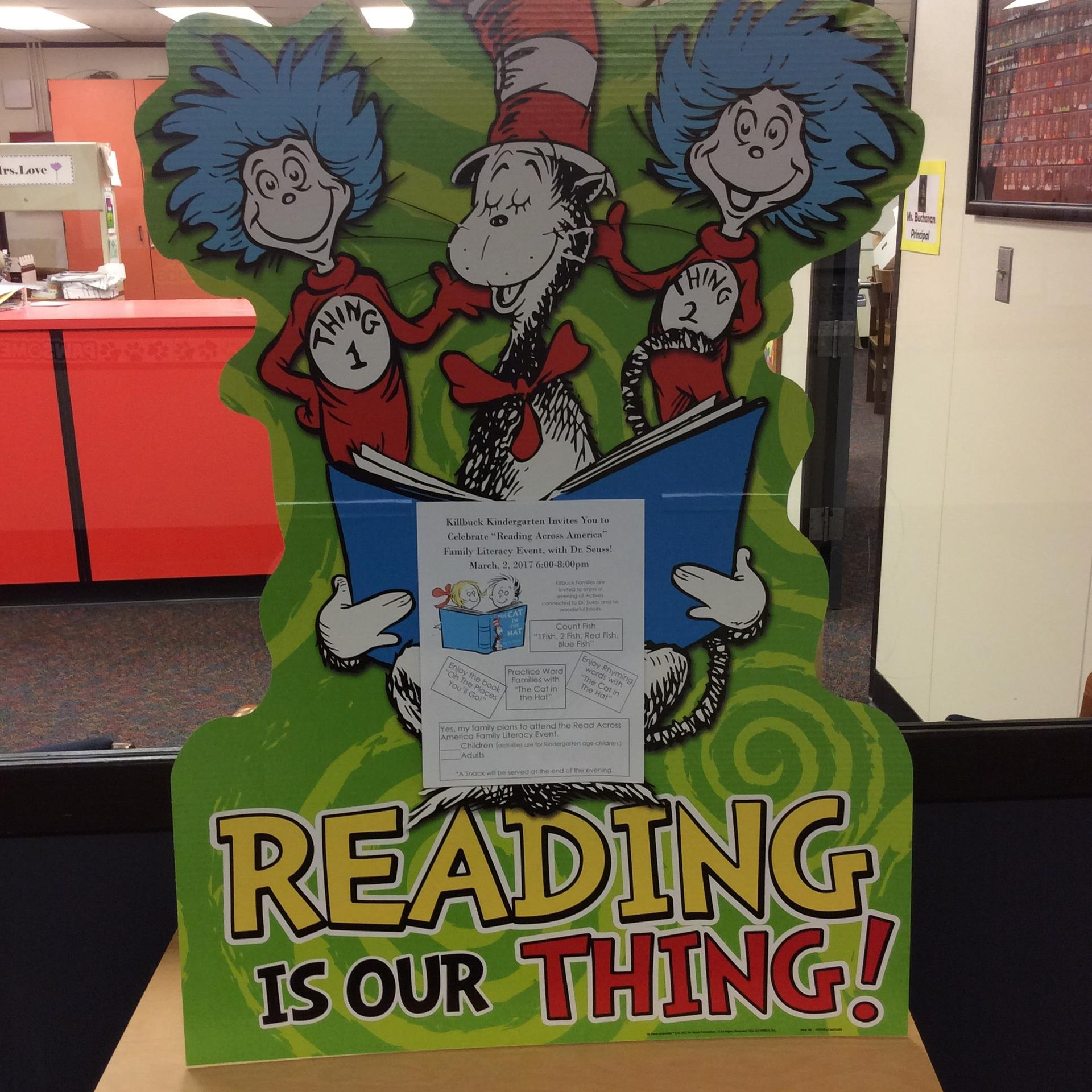 Reading is our Thing! poster