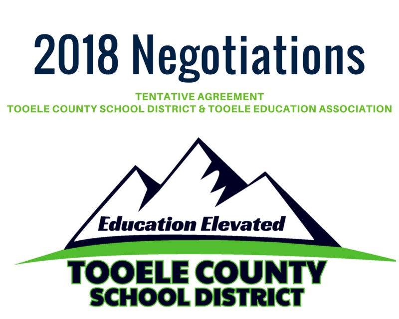 2018 Negotiations. Tentative Agreement between Tooele County School District and Tooele Education Association