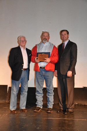 Coach Murr presented with Chamber of Commerce Award