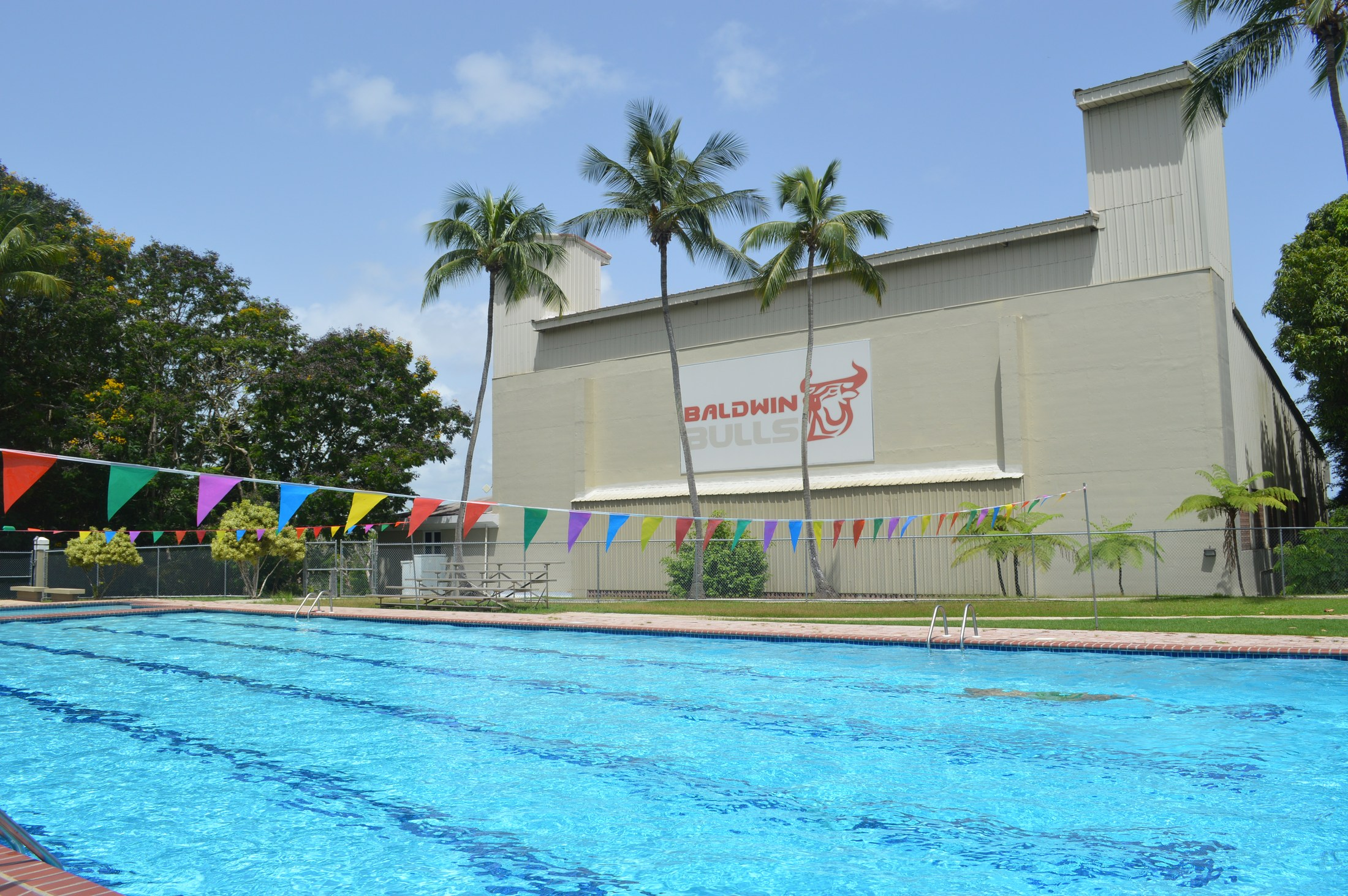 Baldwin School swimming pool