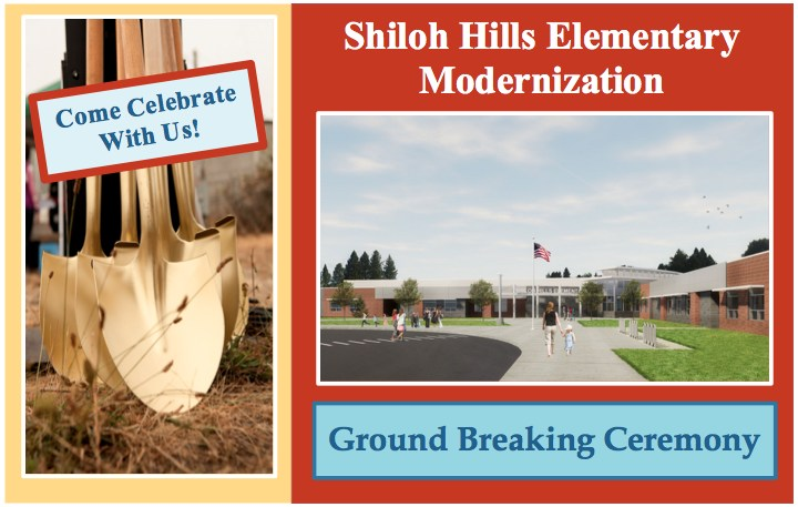 Shiloh Hills Modernization Ground Breaking Ceremony Featured Photo