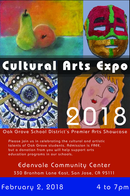 Cultural Arts Expo Poster