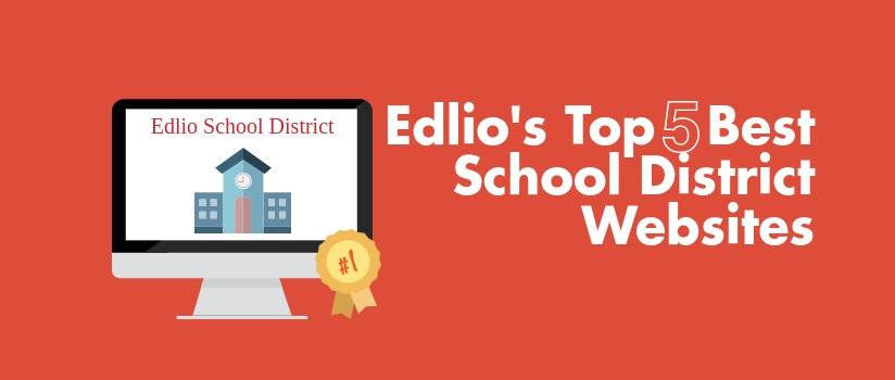 top 5 best school district websites