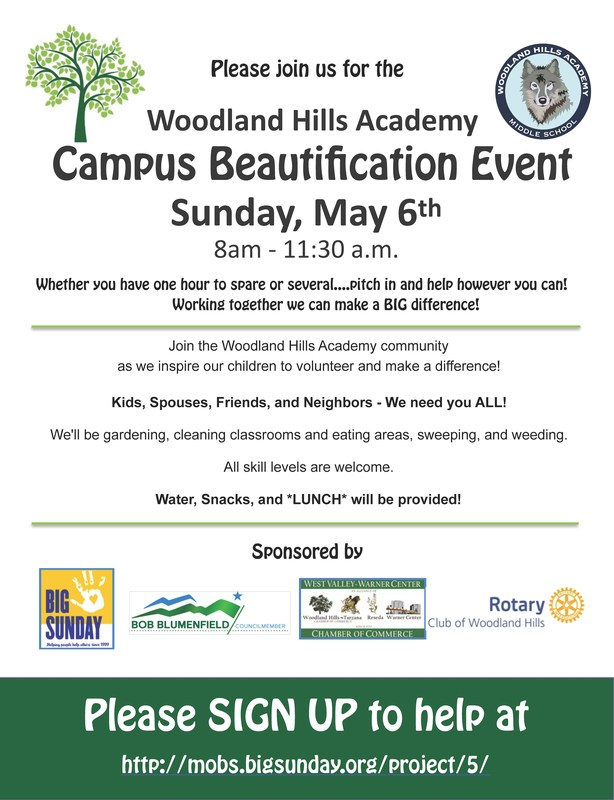 Mark your calendars!  Campus Beautification is coming up on May 6th! Thumbnail Image