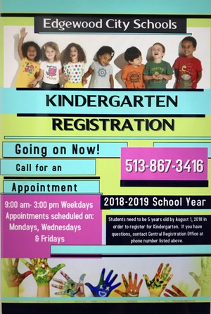 Revised Kindergarten Registration flyer