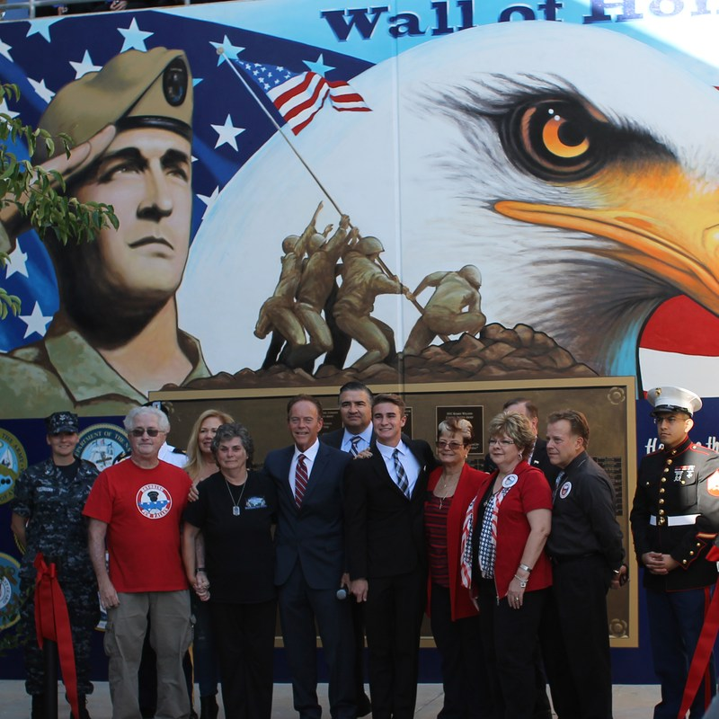 Veterans Day image from Honor Wall