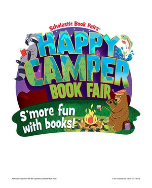 Happy Camper Book Fair.